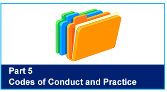 Codes of Conduct and Practice