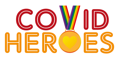 Covid Heroes Awards logo