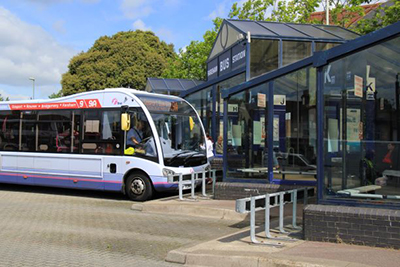 Image of bus station