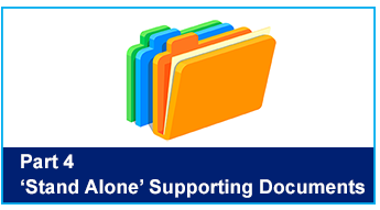 'Stand Alone' Supporting Documents