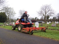 Picture of Grass Cutting at Cemeteries