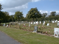 A picture of Posbrook Cemetery