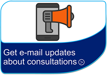 Get email updates about consultations