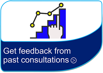 Get feedback from past consultations