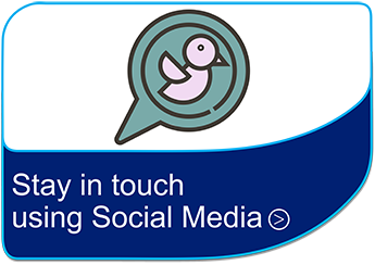 Stay in touch using social media