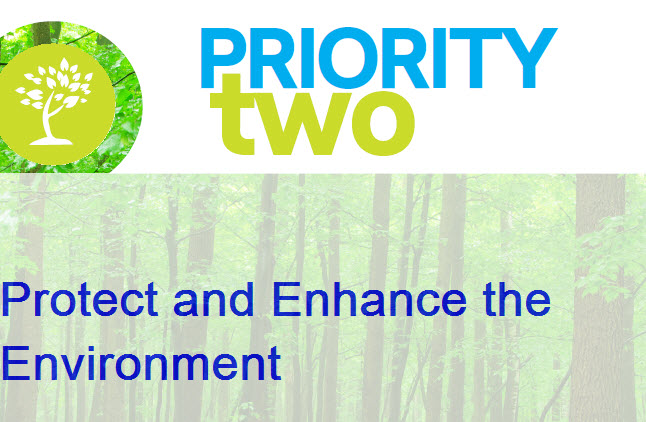 Priority Two Protect and Enhance the Environment