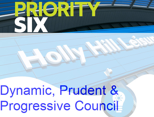 Priority six - dynamic prudent and progressive council