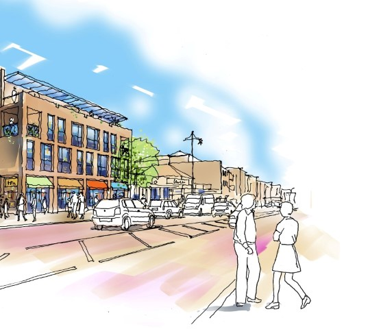 Artists Impression of West Street