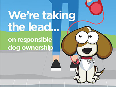 We're taking the lead...on responsible dog ownership