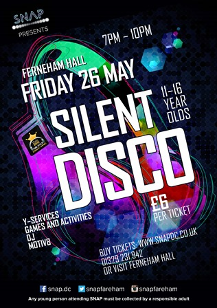 Join The Silent Disco At Snap