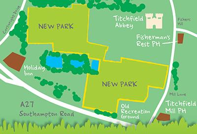 Titchfield Park map