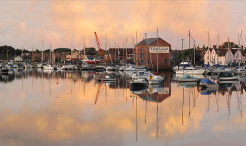 An image of Fareham Creek