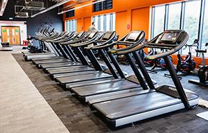 Holly Hill Leisure Centre treadmills
