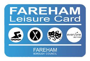 Image of Fareham Leisure Card