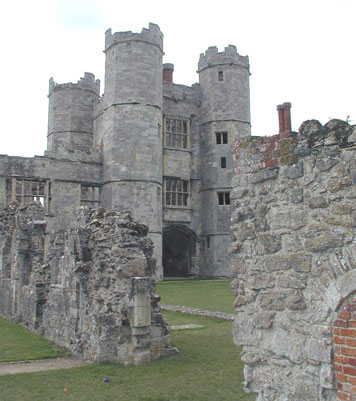 An image of titchfield abbey