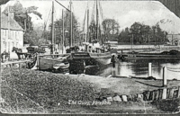 An old image of Fareham Quay
