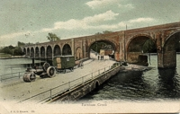 An image of the Fareham viaduct