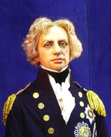 Image of a Wax Work Lord Nelson