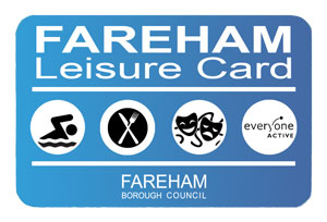 An image of the Fareham Leisure Card