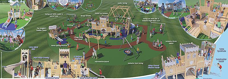 Abbey Meadows play area
