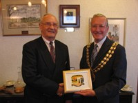 The Mayor of Fareham and the Mayor of Pulheim, 2005
