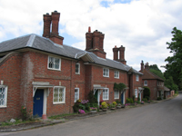 An image of a row of houses in Hook
