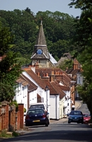 An image of West Street in Titchfield
