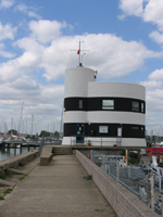 An image of the Harbour Master's office in Warsash