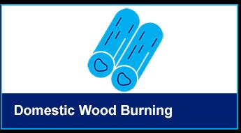 Wood burning button