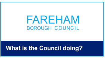 What is the council doing button