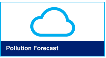 Pollution forecast button