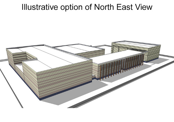 Illustrative option of North East View