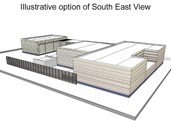 Illustrative option of South East View