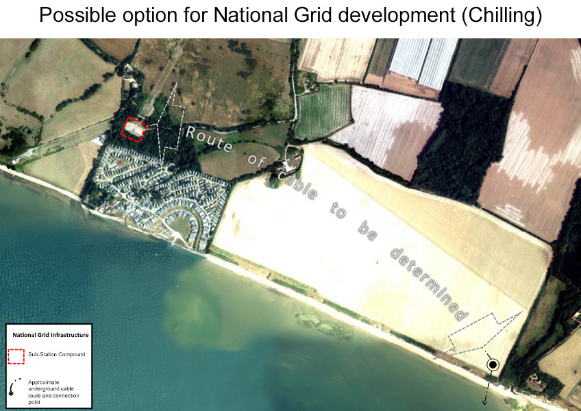 Possible option for National Grid development (Chilling)