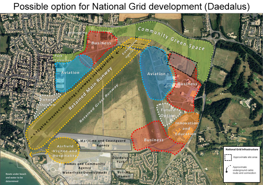 Possible option for National Grid development (Daedalus)