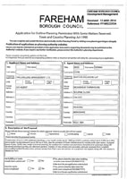 Application Form Certificate