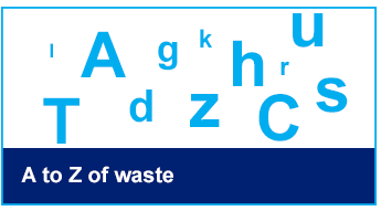 A to Z of waste