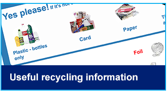 Useful recycling information