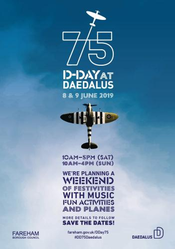 D-Day 75 event at Solent Airport