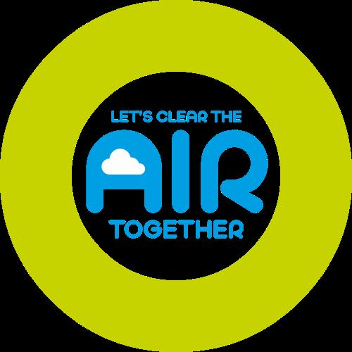 Let's Clear the Air campaign logo