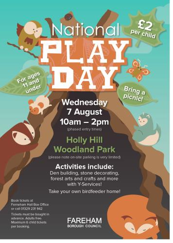 National Play Day at Holly Hill Woodland Park