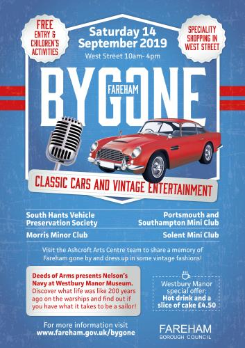 Come along to Bygone Fareham for a free family day out!