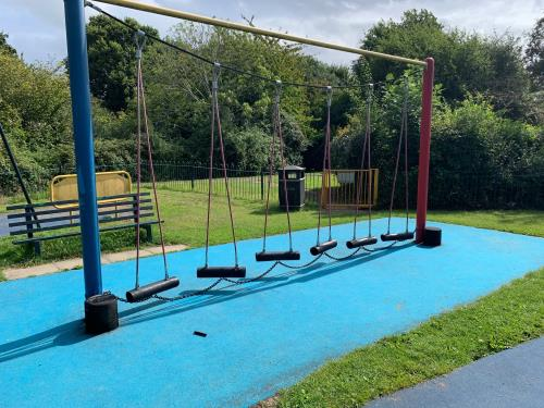 The current trim trail at Clydesdale play area