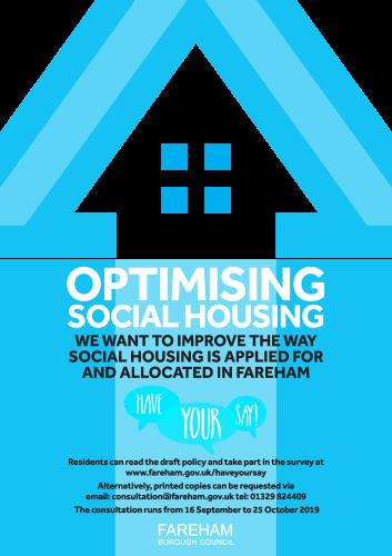 Have your say on social housing in Fareham